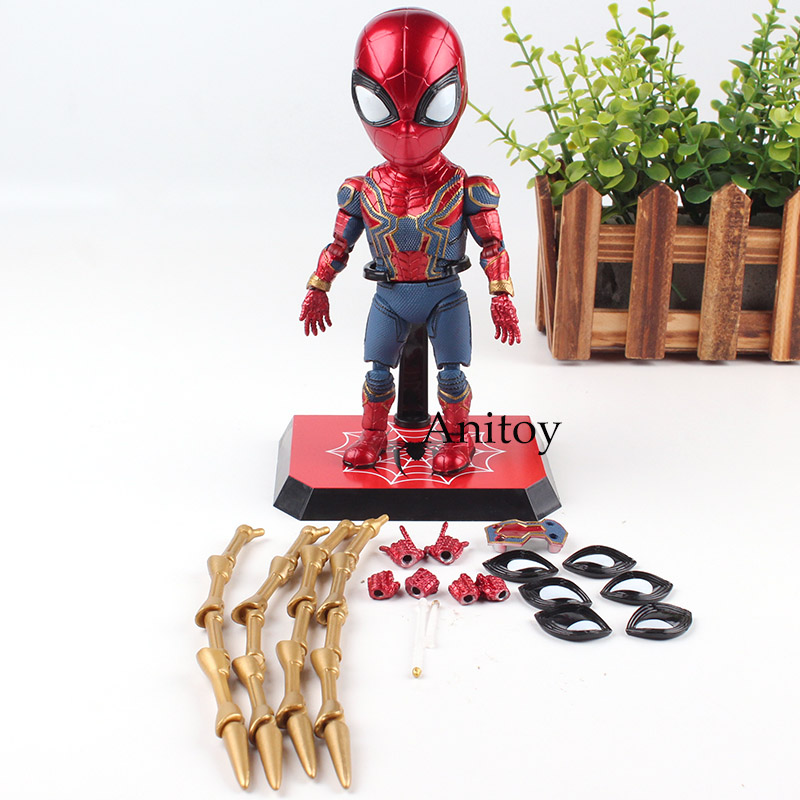The Avengers 3 Coming Soon Spider-man Spiderman Figurine PVC Marvel Action Figures Collection Model Toy 17cm цена 2017