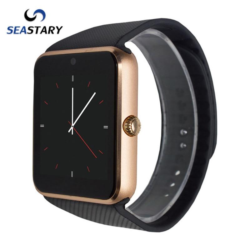 Android font b Smart b font font b Watches b font GT08 Clock Bluetooth Connectivity font