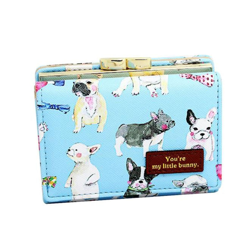 2017 Women Luxury Clutch Wallet PU Leather Purses bag Cute Animal Pattern Ladies Short Wallets Credit Card Holder Coin Purses musiclily 3ply pvc outline pickguard for fenderstrat st guitar custom