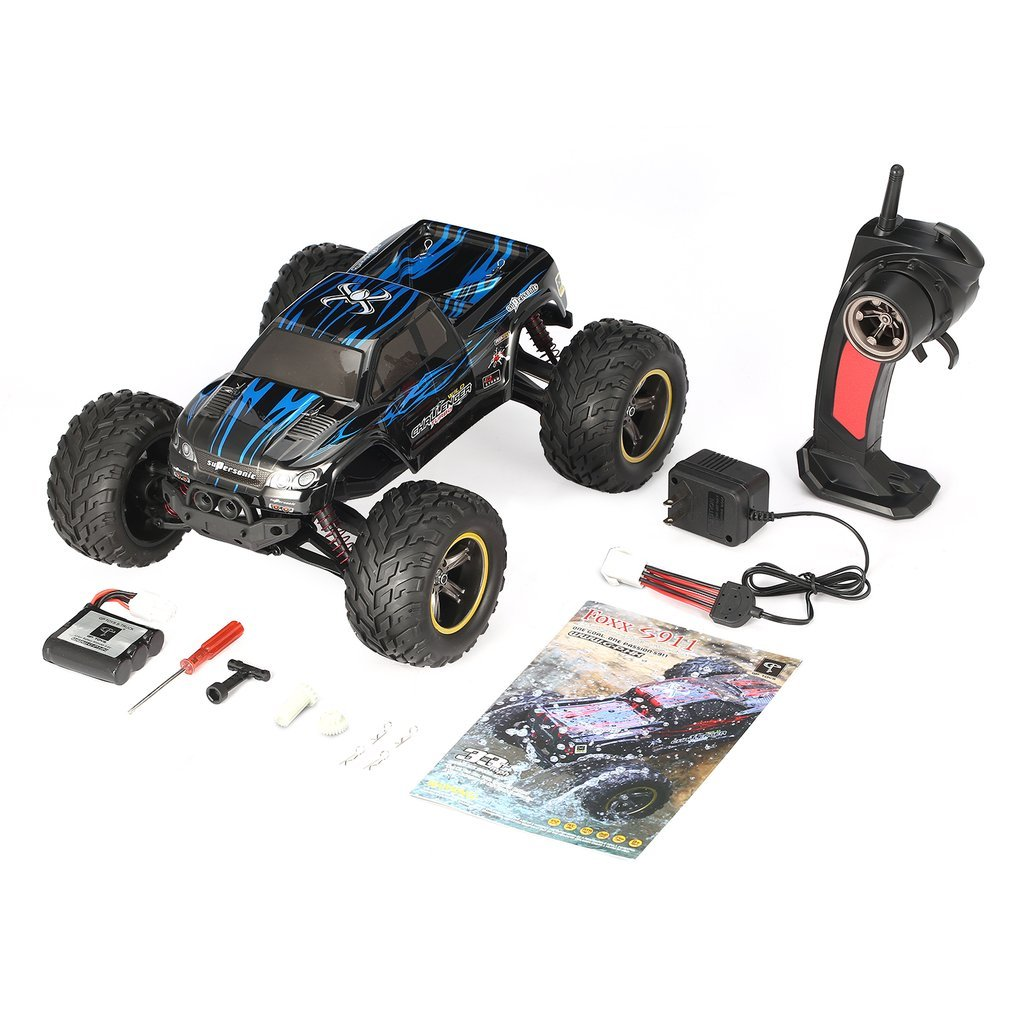 S911 2.4GHz 1:12 RC Car 2WD 40km/h High Speed Big Wheel Off-Road Truck Super Power Electric Car Supersonic Monster Vehicle BuggyS911 2.4GHz 1:12 RC Car 2WD 40km/h High Speed Big Wheel Off-Road Truck Super Power Electric Car Supersonic Monster Vehicle Buggy