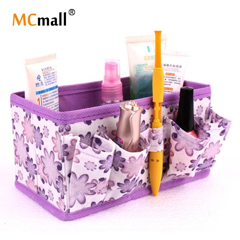 1 PCS Cosmetic Folding Makeup Storage Box Container Bag Case Stuff Organizer HZB-003