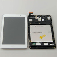 Used Parts Lcd Screen Display With Touch Screen Panel Digitizer Assembly With Frame For Asus Memo