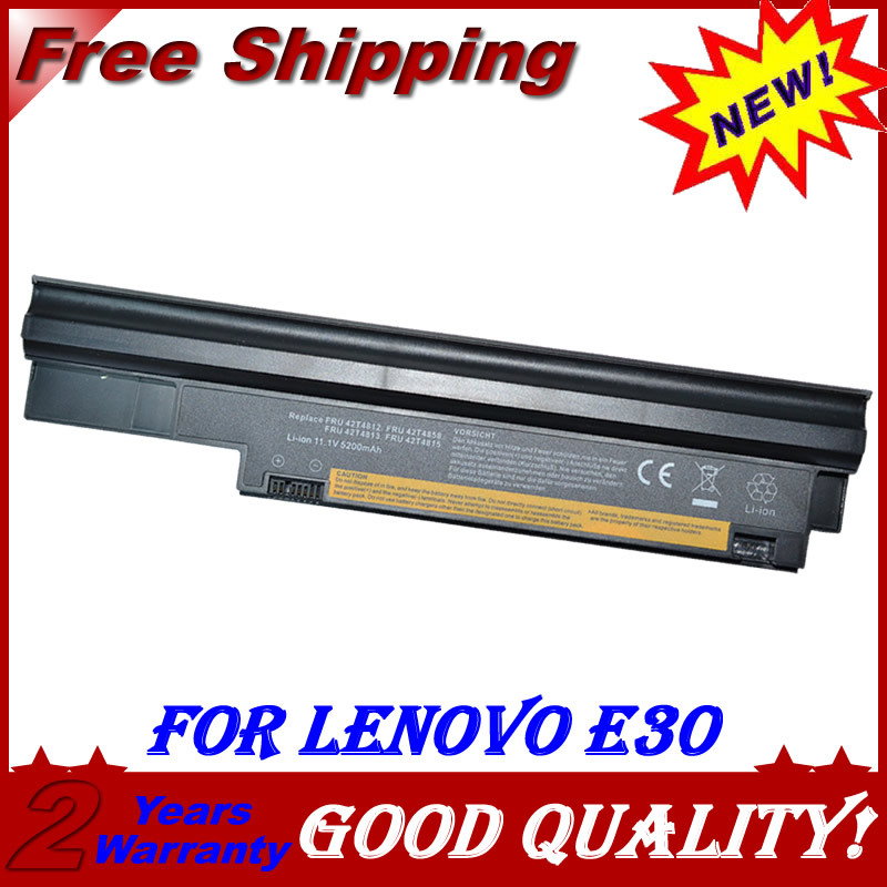 JIGU 6Cell Laptop Battery For Lenovo ThinkPad 42T4803 42T4857 42T4806 42T4813 57Y4564 42T4812 42T4858 42T4815 Edge 13 E30 E31 jigu new battery l11l6y01 l11s6y01 for lenovo y480p y580nt g485a g410 y480a y480 y580 g480 g485g z380 y480m