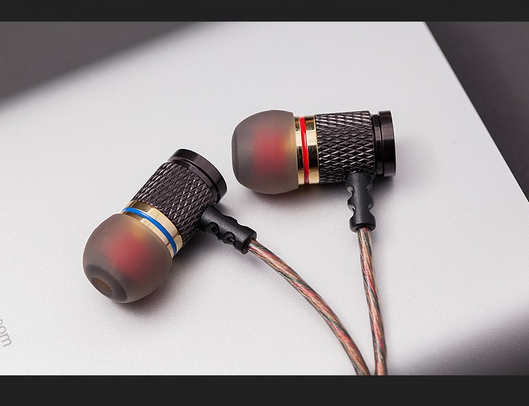 QKZ DM6 Earphones Enthusiast bass In-Ear Earphone Copper Forging 7MM Shocking Anti-noise Microphone Sound Quality fone de ouvido 13