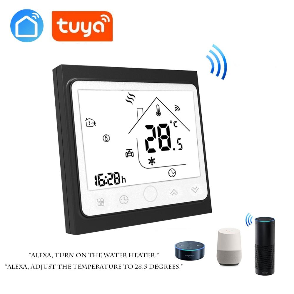 Tuya App Smart Phone Control WIFI Thermostat For Floor Water Heating Digital Room Temperature Regulator Antifreeze
