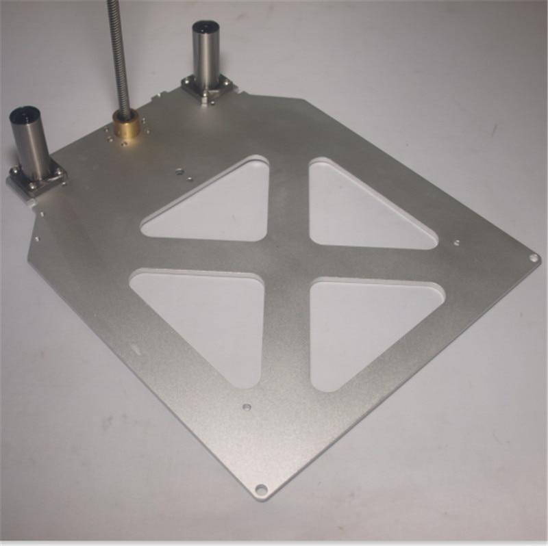 Upgrade Utimaker 2 /Extended + 3D printer accessories light Z Print Table Base Plate anti-backlash POM nut LMK12LUU