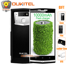 Oukitel K10000 Pro смартфон 10000 мАч Android 7.0 12 В/2A Quick Charge 5.5 дюймов fhd 3 ГБ Оперативная память + 32 ГБ Встроенная память 13.0 МП 4 г LTE мобильный телефон