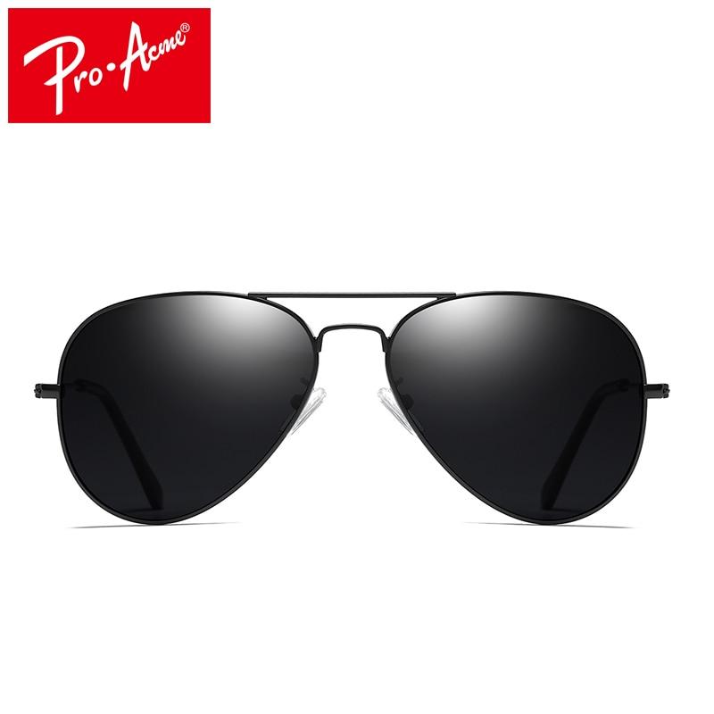 Pro Acme Класичні сонцезахисні окуляри для чоловіків Чоловічі сонцезахисні окуляри Мода для жінок Дзеркало для водіння Lengs Чоловічі сонячні гази Pilot Sunglass de sol CC0744