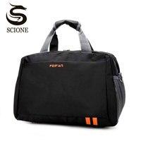 Scione классический путешествия бизнес сумки для мужчин водостойкая кабина сумка для багажа чемодан женщин большой повседневное Спорт
