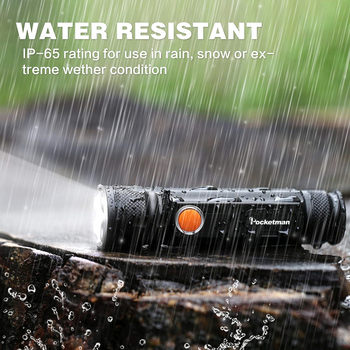 5000LM Multifunctional LED Flashlight USB Rechargeable battery Powerful T6 torch Side COB Light linterna tail magnet Work Light 1