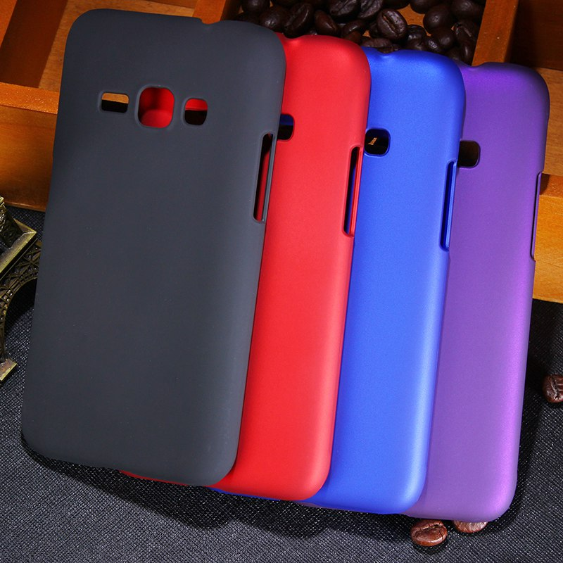 New Multi Colors Luxury Rubberized Matte Plastic Hard Case Cover For Samsung Galaxy J1 2016 J120 J120F Cell Phone Cover Cases