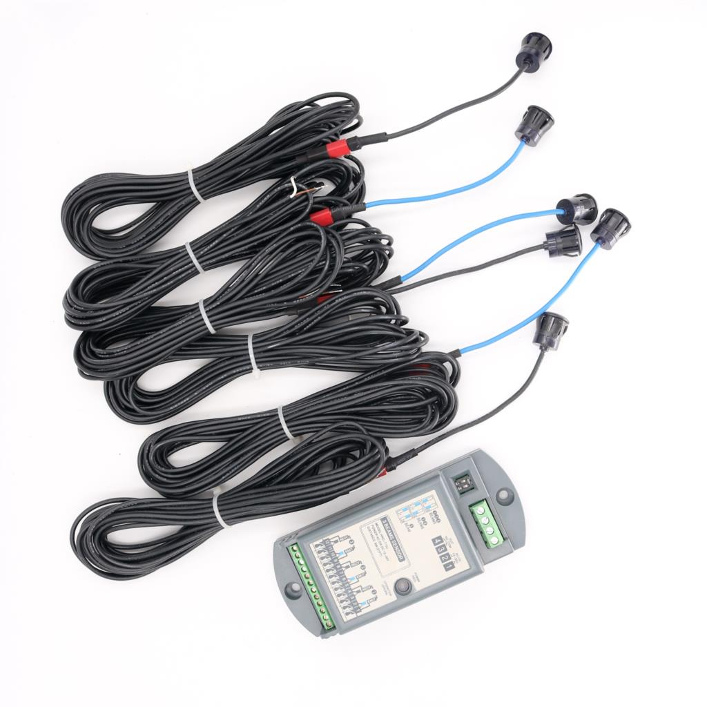 12V 24V Photoelectric Beam Sensor 10m Infrared Electronic Safety Light 3 Pair Beam