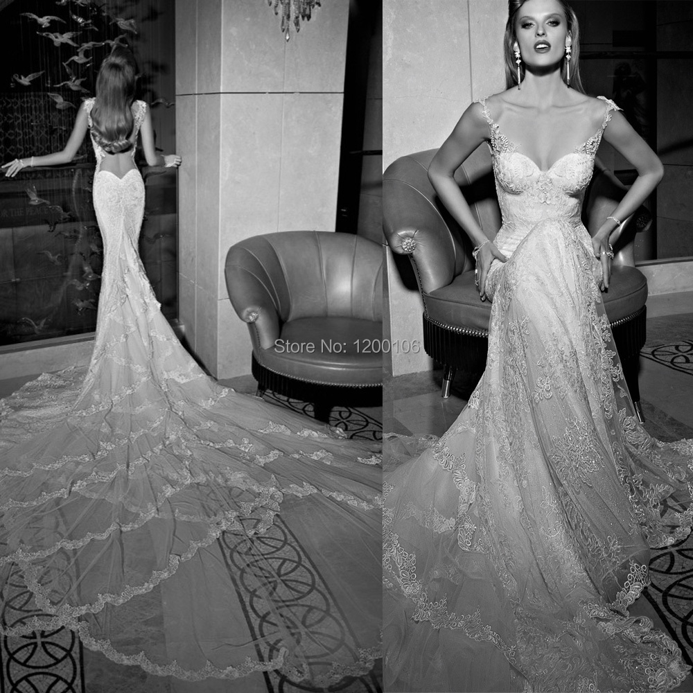 fasion sheer wedding dresses New Wedding Dress Sheer Sleeveless Tulle A Line Applique Beaded Court Train Bridal Gowns With