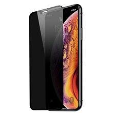 Filme moderado do telefone da peek da anti tela cheia para o iphone 6 6s 7 8 para o iphone x xs para o iphone xsmax