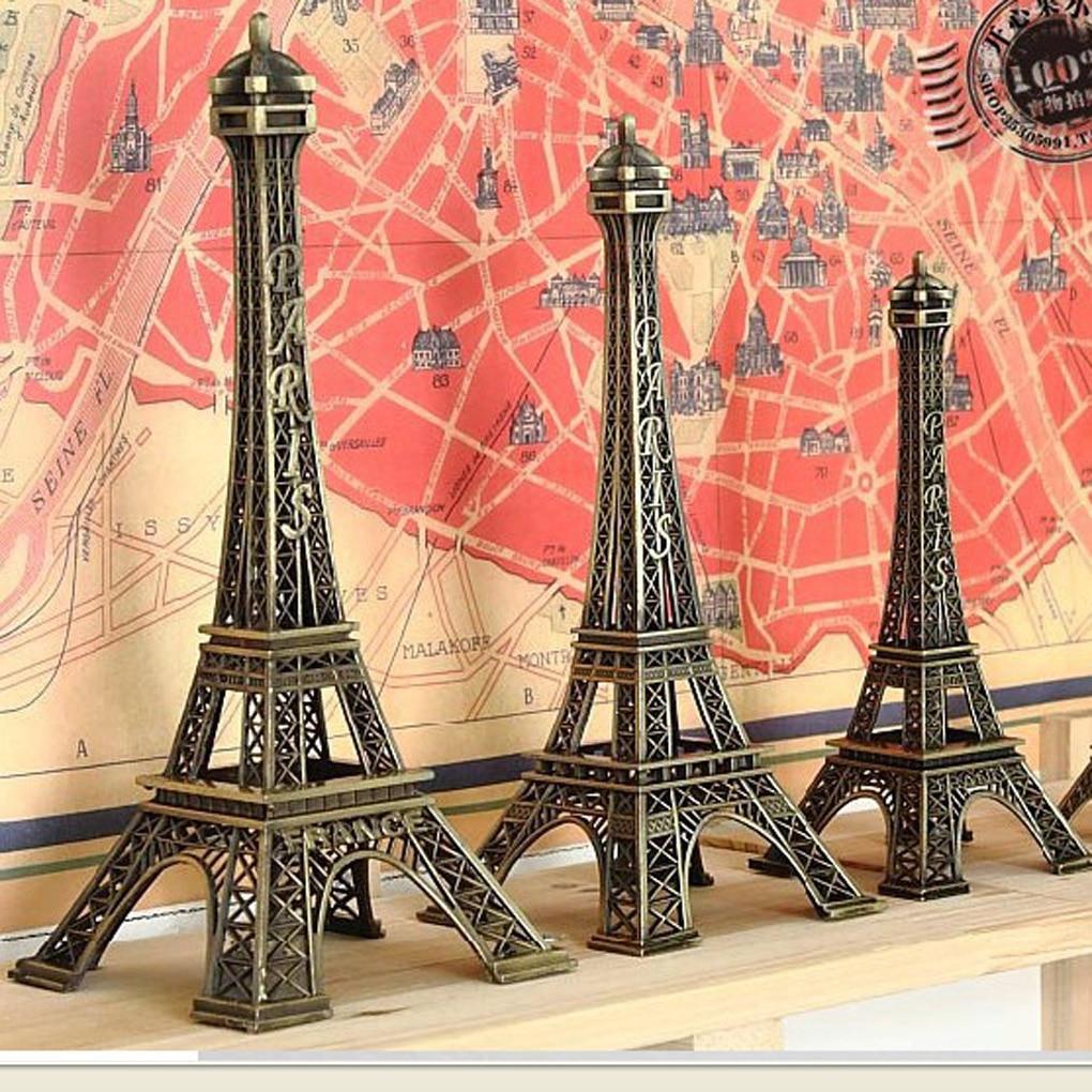 Tour Souvenir Tower Paris France Souvenir Metal Model 5cm-25cm