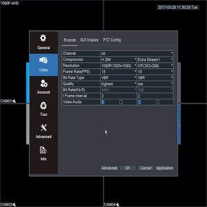 Image 5 - キーパー 8 チャンネル 1080 1080P AHD フル Hd 5 で 1 ハイブリッド DVR 監視ビデオレコーダーため AHD カメラ TVI CVI AHD CVBS IP カメラ