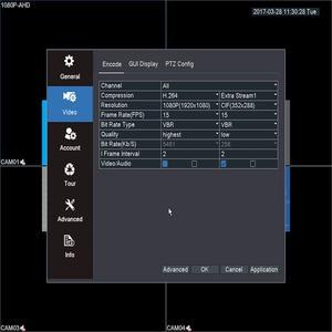 Image 5 - Nie miał w tej sytuacji 8 kanał 1080P AHD Full HD 5 w 1 hybrydowy DVR nadzoru wideorejestrator dla kamera AHD TVI CVI AHD CVBS kamera IP