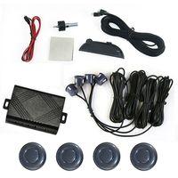 Car LED Display 4 Parking Gray Sensor Reverse backup Radar +Wholesale [CP162]
