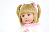 Realistic 24 inch Vinyl Toddler Princess Girls Babies Doll