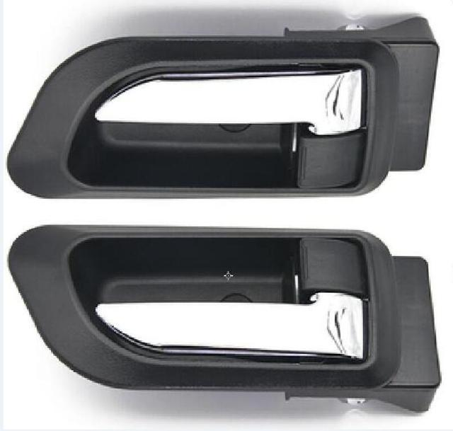 A PAIR BLACK gray Beige INSIDE DOOR HANDLE FOR Great wall haval hover H3 H5 2010 2013 inside Handle car handle door knob