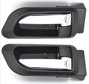 Image 1 - זוג שחור אפור בז בתוך ידית דלת haval קיר רחף H3 H5 2010 2013 בתוך ידית מכונית ידית דלת ידית