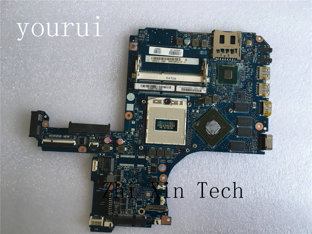 yourui For Toshiba P50-A  P50 P55 L50 Laptop motherboard H000057740 DDR3 Test all functions