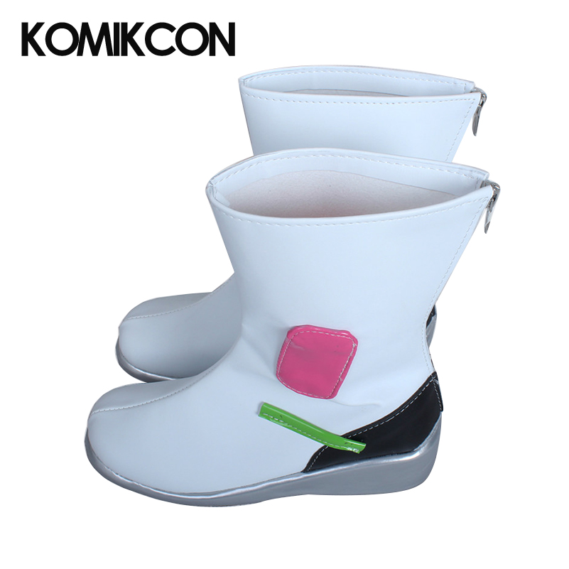 Game OW D.va <font><b>DVA</b></font> <font><b>Shoes</b></font> Cosplay <font><b>DVA</b></font> Boots Cosplay Accessories Rain Boots image
