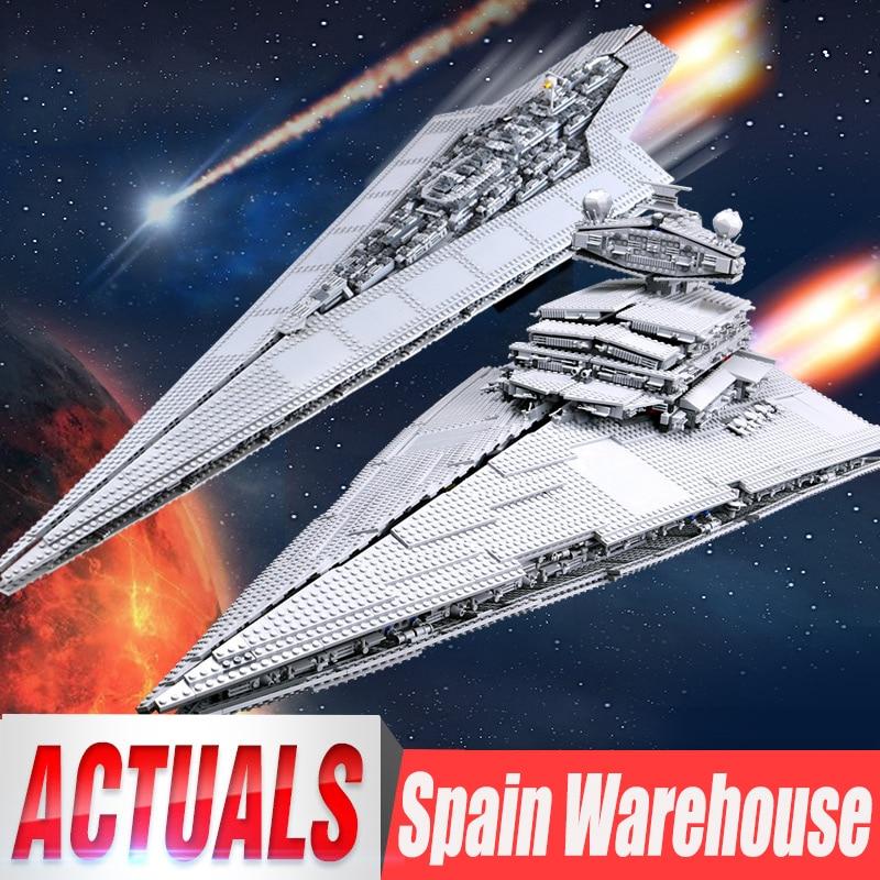 05027 05028 Emperor Fighters Ship Compatible 10030 10221 Star Destroyer Kids Toys Starship Building Blocks Bricks