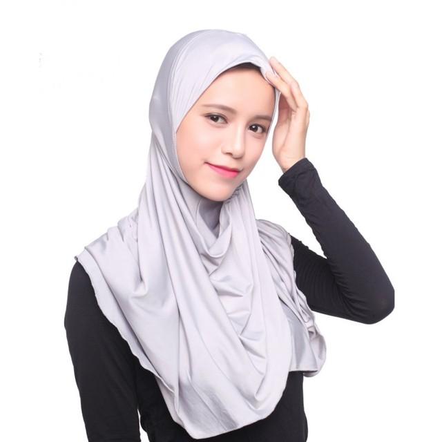 Muslim Women Hijab Under Scarf Hat Cap Bonnet Ninja Islamic Neck Full Cover Underscarf