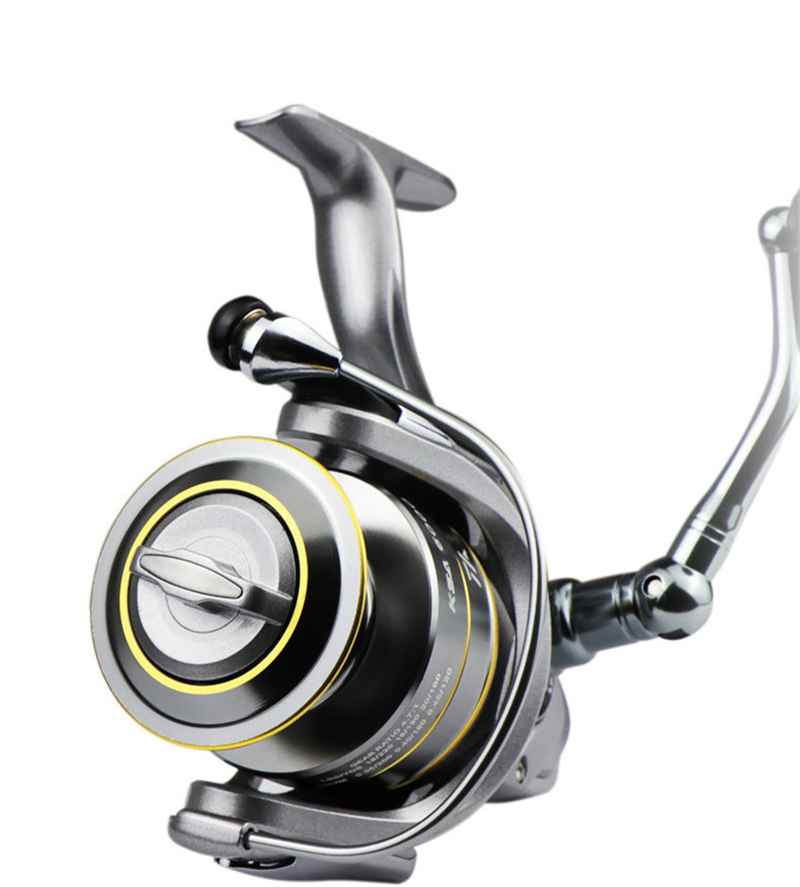 High-Quality Fishing Reel With Non-Slip Bottom And Metal Spool For Saltwater 13