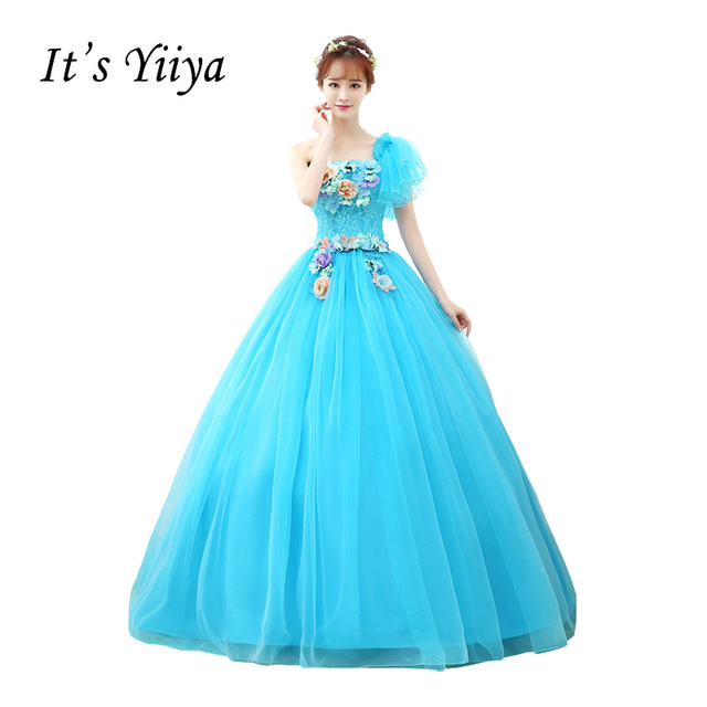 Vestidos De Novia Free Shipping Plus Size Wedding Dresses Purple Light Blue  Green Wedding Ball Gown Wedding Bridal Frocks MHL003 4128a24f9f67