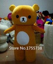 Fantasia 2015 panas mudah beruang maskot kostum dewasa kartun berjalan cosplay pengiriman gratis pakaian adat