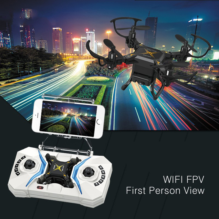 Global Drone Mini Drone with Wifi Camera Headless Mode drones 6 Axis Gyro quadrocopter 2.4GHz 4CH RC Helicopter VS CX10 JJRC H363