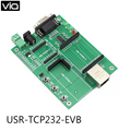 USR-TCP232-EVB Free Shipping  Serial UART TTL to Ethernet TCP/IP Module Evaluation Board for TCP232-S/T/D/E2/ED2 Serial Ethernet