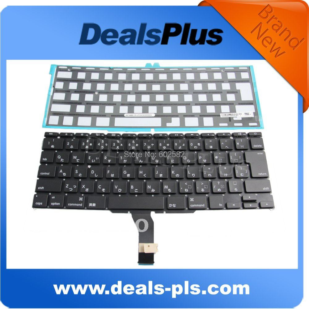 ORIGINAL keyboard FITS Macbook Air A1370 Japan Japaness keyboard 2011 with backlight