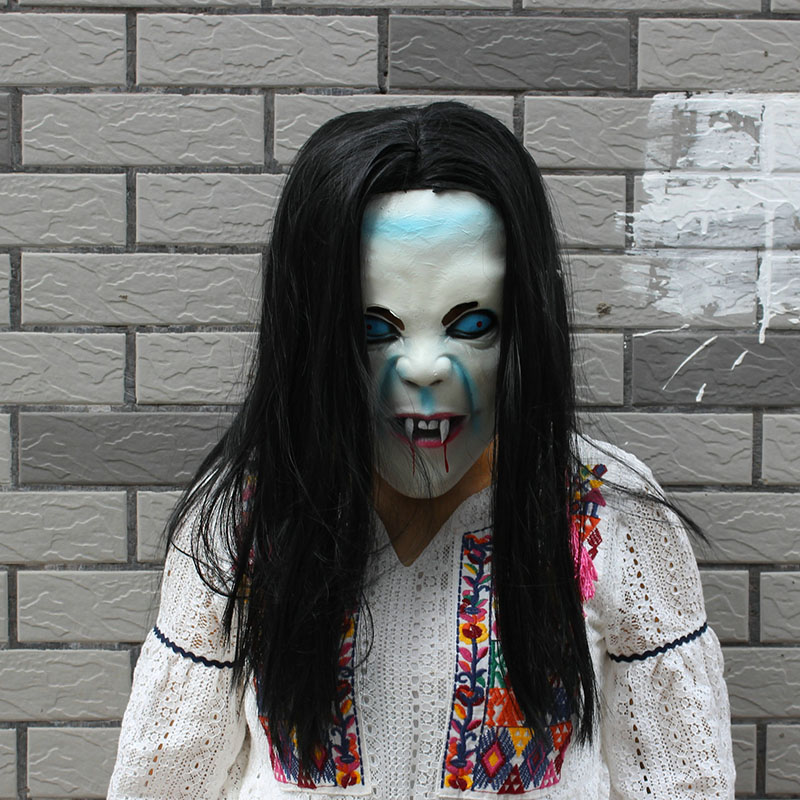 Фотография Реалистичная силиконовая маска на Хеллоуин
