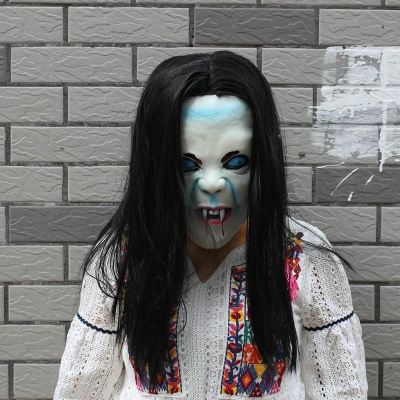 Реалистичная силиконовая маска на Хеллоуин