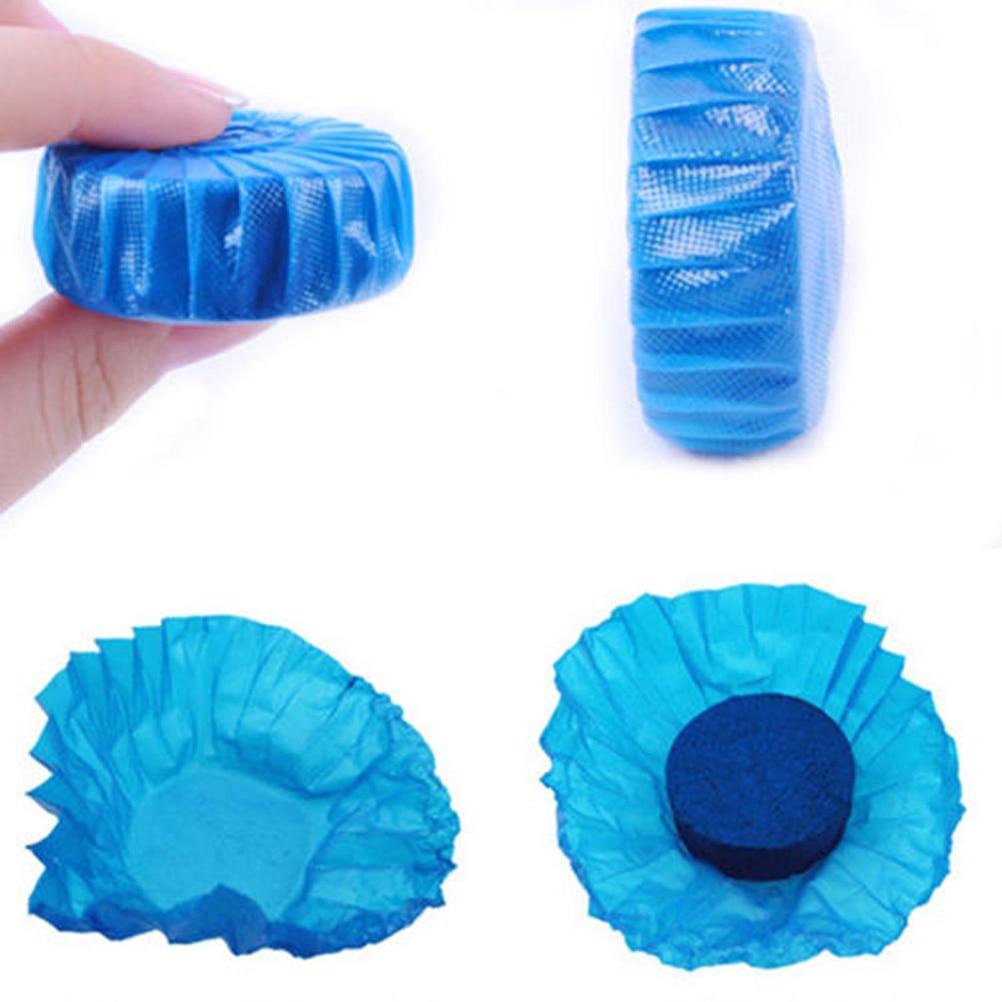 Incroyable 1 Pcs Automatique Jetable Magique Flush Toilettes Wc Propre Aide Parfumé  Boule Bleu Bulle De Nettoyage