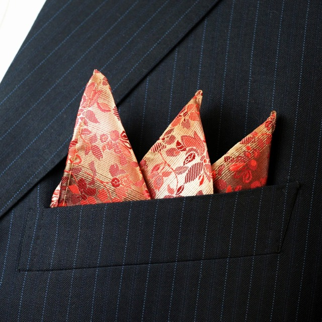 Floral Liberty Pattern Pocket Square