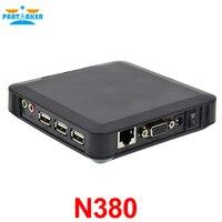 Partaker Đen CE 6.0 N380 Trạm PC Hỗ Trợ Khách Hàng Mỏng XP 2000 Server 2003 Windows 7 hoặc 8 Linux