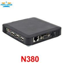 Причастником Черный CE 6.0 N380 ПК станция тонкий клиент Поддержка XP 2000 Server 2003 Fenêtres 7 или 8 Linux
