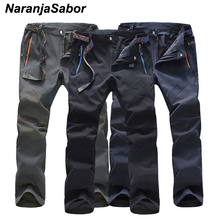 NaranjaSabor 2017 Summer Men's Quick Dry Pants Mens Casual Pant Waterproof Jogger Male Trousers Spring Men's Brand Clothing 5XL