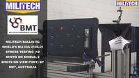 Test Video Militech NIJ IIIA 0108.01 Ballistic Shield Testing Video Presented by BMT,Australia