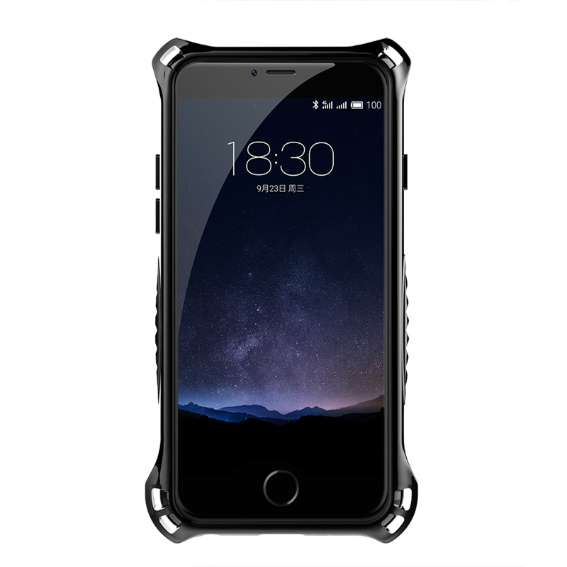Simon thor metal case for iphone 6 aluminum cover for iphone 7 case luxury heavy duty armor shockproof cases 6s 7+ bumper shell