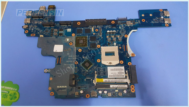 US $135 65 |FOR DELL FOR latitude E6540 laptop Motherboard VWNW8 0VWNW8  VALA0 LA 9411P 100% Work Perfectly-in Laptop Motherboard from Computer &
