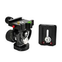 L10 Sirui Aluminum Pro Tripod Head Monopod Ball Video Tripod Ball Head with Quick Release Plate for DSLR Camera Tripod Universal