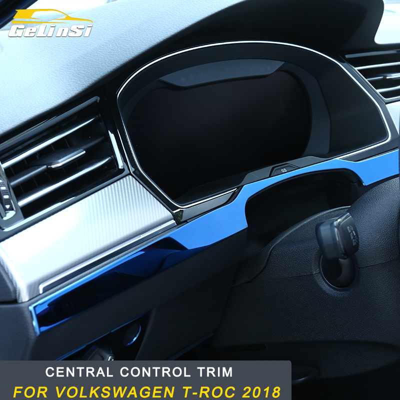 GELINSI for Volkswagen Arteon Car Central control farme Cover Trim Car Exterior Accessories Fit special accessories ABS