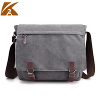 KVKY Bags For Men 2018 Vintage Large Capacity Canvas Crossbody Bags For Men Casual Business Travel