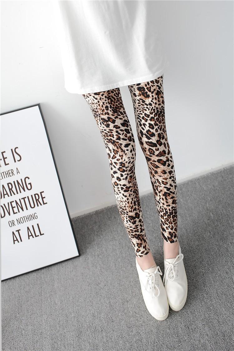 Multiple Leopard Leggings Print Fashion Skinny Pants Womens Leggins 17 Elastic Calca Legging Feminina Workout Sale HDDK0011 14