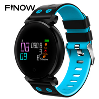 K2 Bluetooth Smart Watch IP68 Waterproof Round Colorful OLED Smartwatch Heart Rate Monitor Pedometer smartwatch for Android/iOS